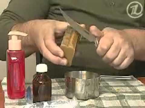 Как сделать электролит серебра