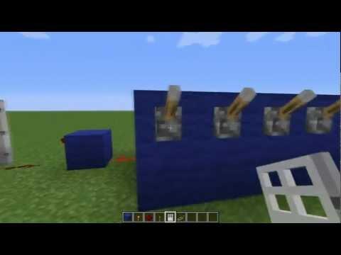 Как сделать кодовый замок в майнкрафт 1710