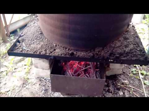 Коптильни горячего копчения своими руками видео