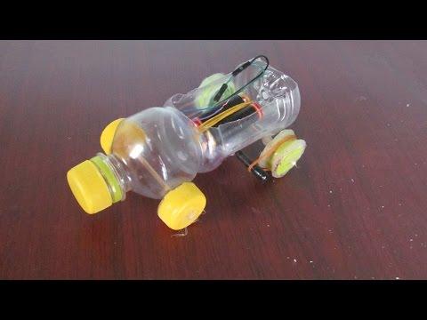 Как сделать из пластика машину