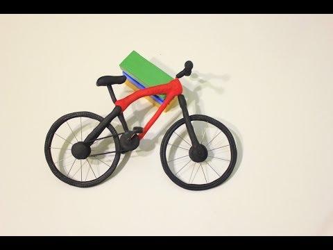 Велосипед из пластилина своими руками
