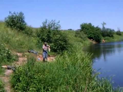 рыбалка возле дубны