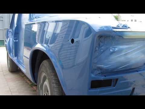 Покраска авто акрилом видео
