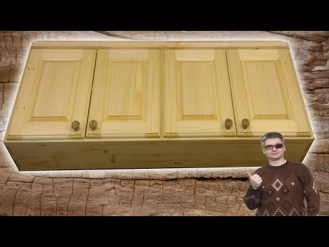 Кухня своими из дерево видео