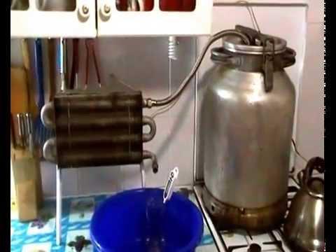 Охладитель для самогонного аппарата своими руками