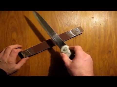Чем чистить ножи в домашних условиях
