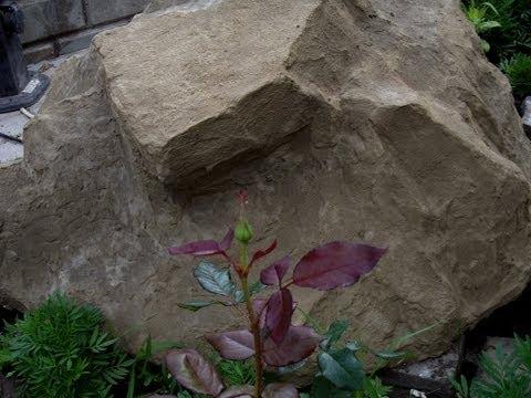 Искусственные камни своими руками из монтажной пены