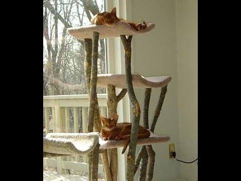 Кошка из дерево своими руками