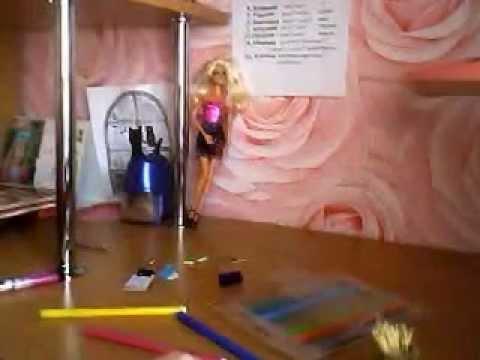 Как сделать для кукол барби карандаши