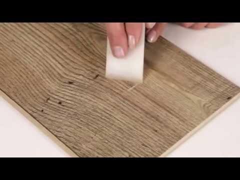 Как отремонтировать ламинат отверстия