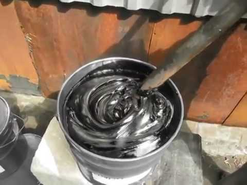 Мастика битумная гидроизоляционная своими руками