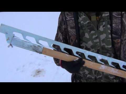 Финская доска для установки сетей под лед