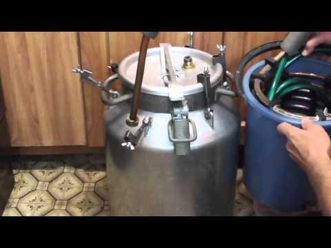 Как сделать самогонный аппарат из бидона своими руками