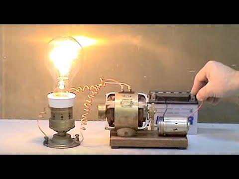 электродвигатель на 12 вольт как сделать генератор