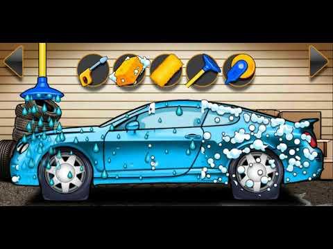 Мультики про машинку раскраска и мойка машин