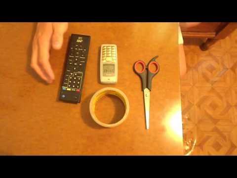 Как сделать пульт у телевизора - Stroy portal