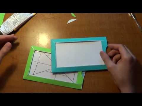 Как сделать волшебное рамку