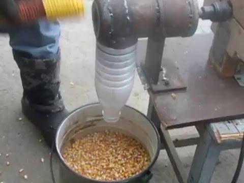 Как сделать кукурузолущилка своими руками