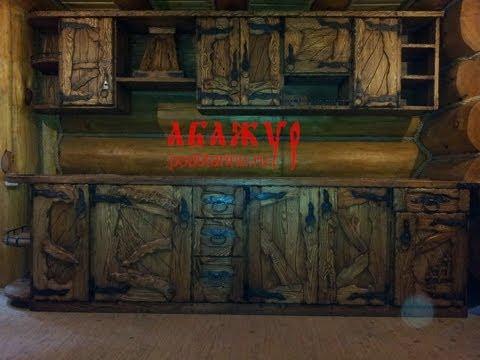 Мебель из дерева под старину своими руками фото чертежи
