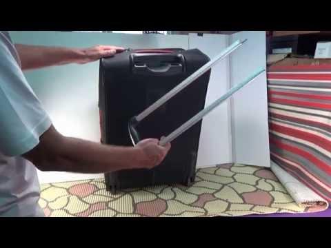 Ремонт ручки чемодана на колесиках своими руками