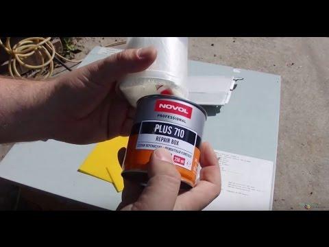 Как склеить пластик