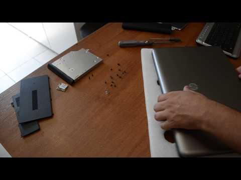 Как собрать ноутбук видео
