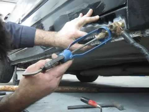 Как вытянуть порог на автомобиле без сварки
