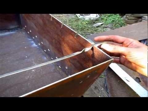 Изготовление мангала своими руками