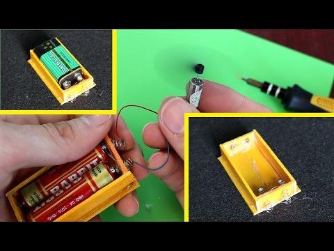 Как сделать держатель для батареек