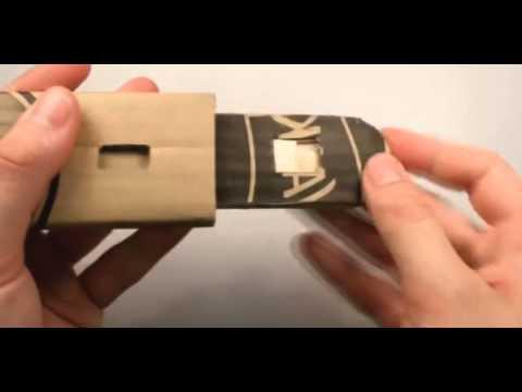 Как сделать скрытый клинок ассасина из картона