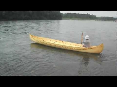 долбленая лодка из осины своими руками
