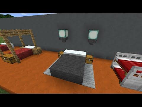 Фото майнкрафт как сделать кровать