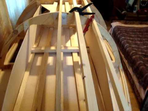 лодка из фанеры на стрингерах