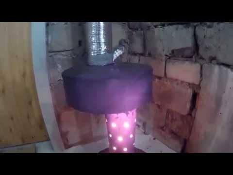 Почему дымит печка на отработанном масле
