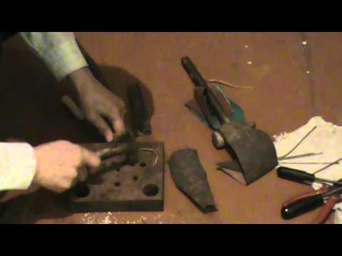 Как сделать шило для прошивания обуви видео