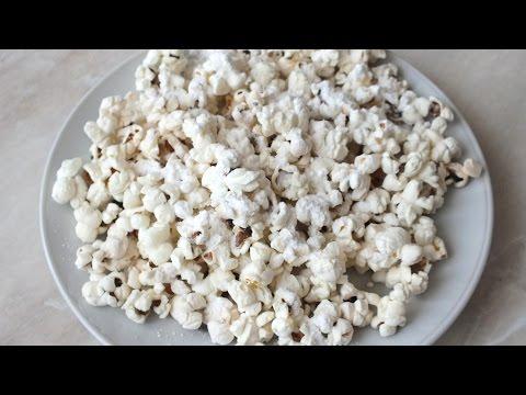 Как готовят попкорн в домашних условиях