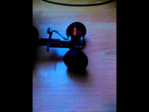 ГНТИ - Как сделать поворачивающиеся колеса в lego - Видеорепортажи из мира науки и техники