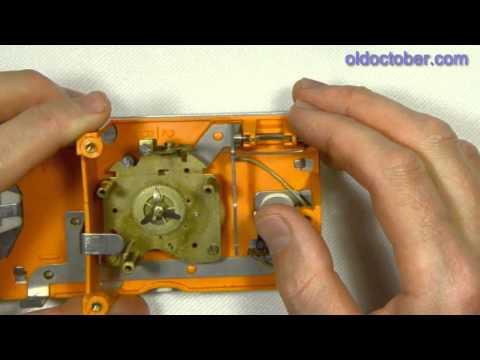 Чистка механических наручных часов