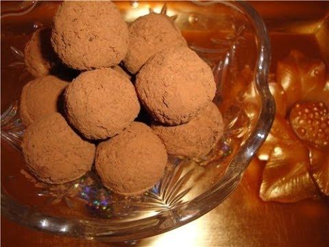 Трюфель конфеты рецепт в домашних условиях