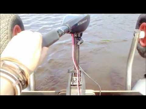 лодочный электромотор deka