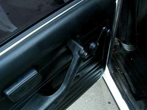 Замки дверей ВАЗ-2109 на ВАЗ-2107, как взломать замок подробная схема.