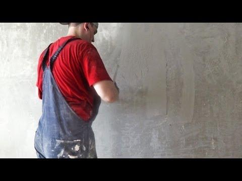 шпаклевка стен видео-жо1