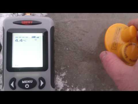 беспроводной эхолот fishfinder ffw718 видео