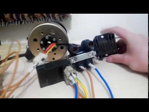 Электронное зажигание на яву 12 вольт своими руками