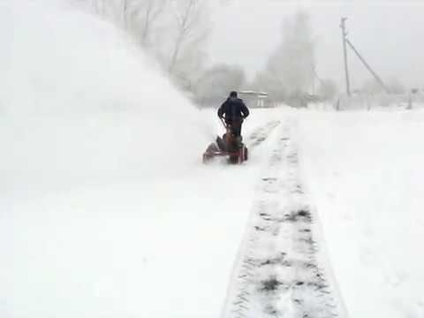 Сделать снегоуборщик своими руками для мотоблока
