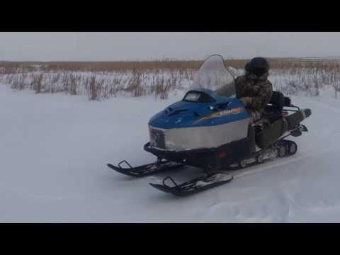 Снегоход с двигателем ока видео