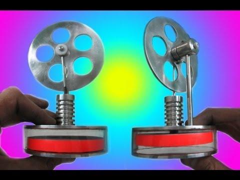 Смотреть +++ МАГНИТНЫЙ САМОДЕЛЬНЫЙ ДВИГАТЕЛЬ СТИРЛИНГА , КАК РАБОТАЕТ КАК СДЕЛАТЬ HOMEMADE STIRLING ENGINE HD видео.