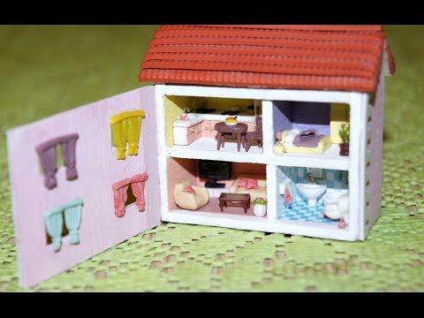 Мой дом для кукол своими руками видео