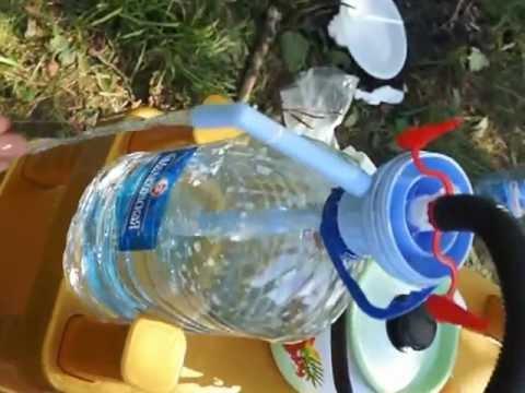 Водяная помпа своими руками видео