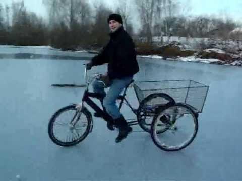 Как сделать 3 колесный велосипед видео